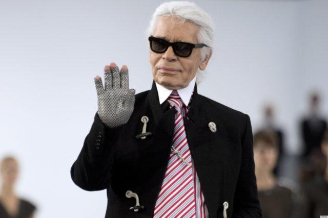 Designer Chanel Karl Lagerfeld
