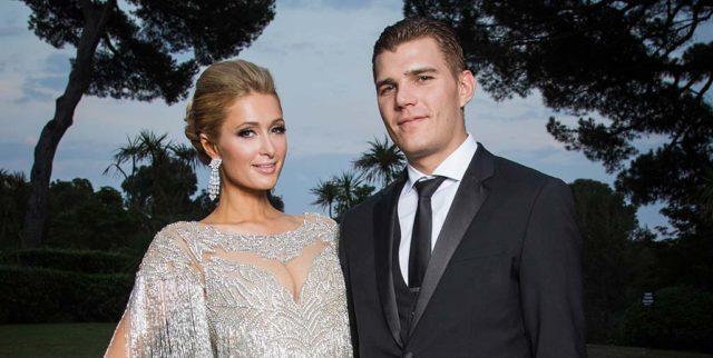 Paris Hilton and Chris Zilka