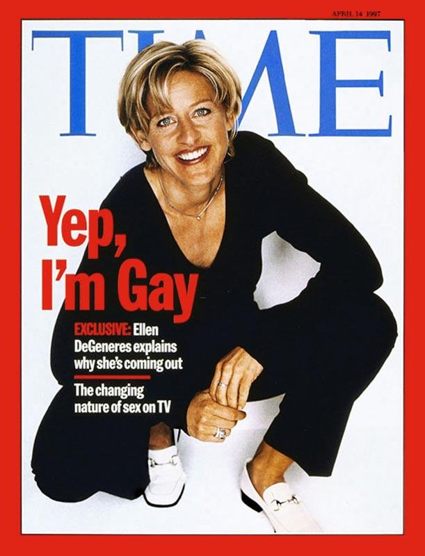 Ellen DeGeneres Magazine Cover