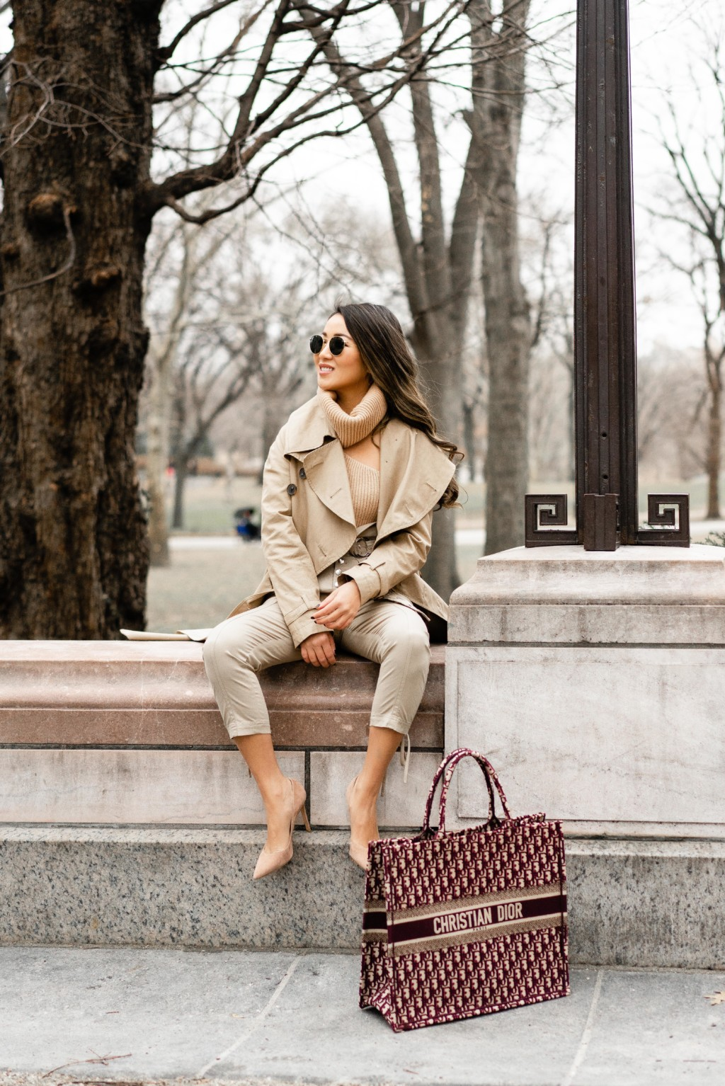 A Winter to Spring Outfit, Transeasonal Pieces 43