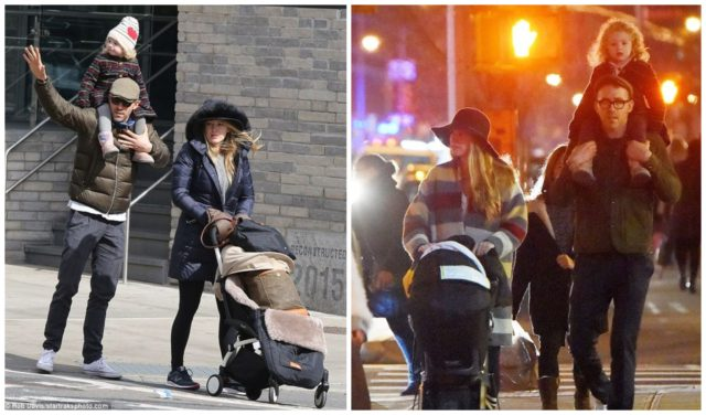 Family Weekdays In Star-like or Famous Moms With Their Children 36