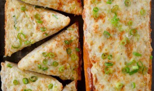 Surprisingly Tasty Cheesy  Bread With Garlic Recipe