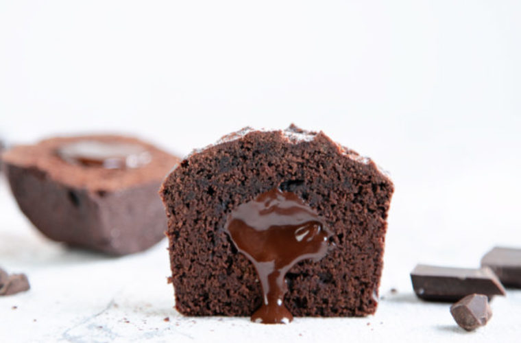 Vegan Chocolate Muffins Recipe Ready in Only 25 Min!