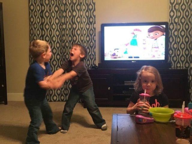 Kids rage