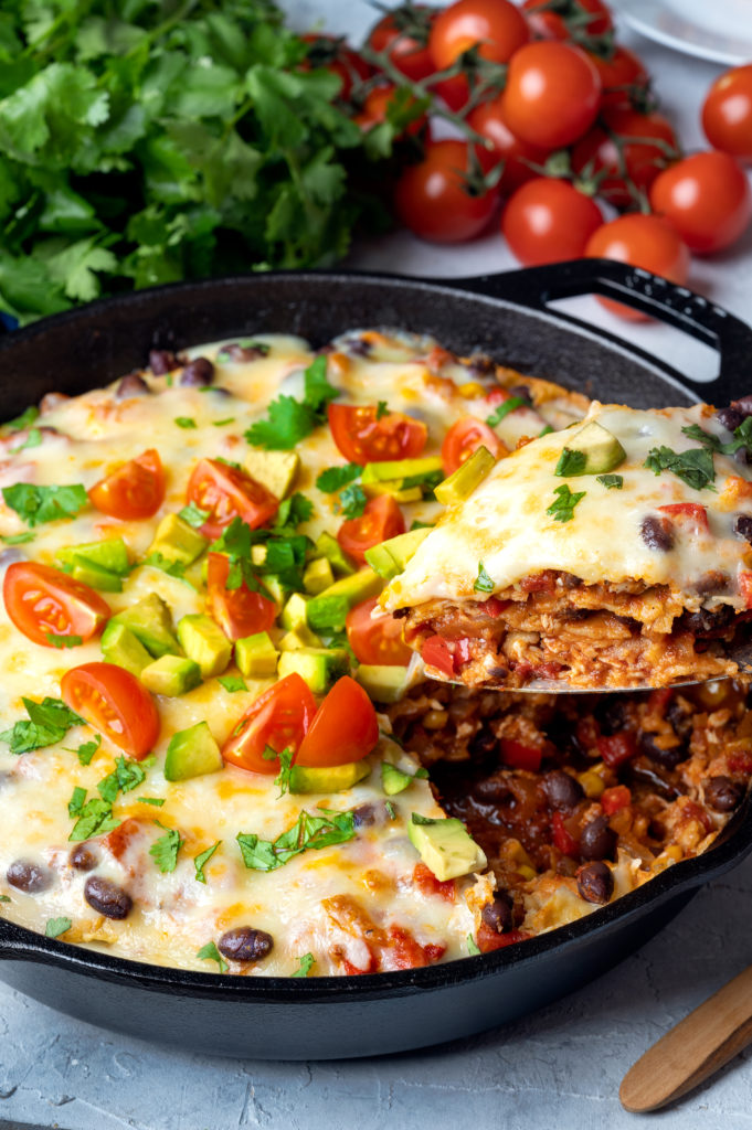 easy weeknight mexican skillet