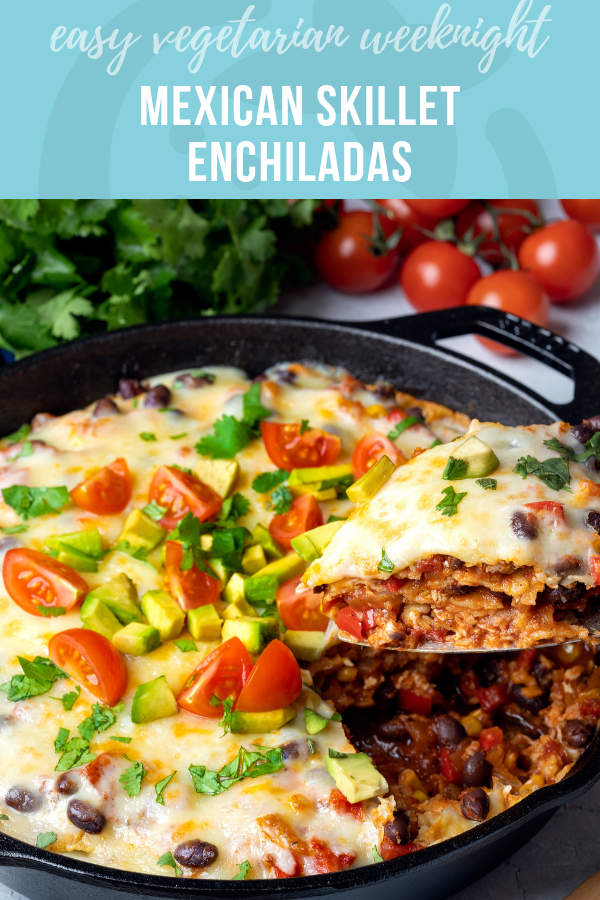 Easy Weeknight Mexican Skillet Enchiladas | Healthy Ideas and Recipes for Kids