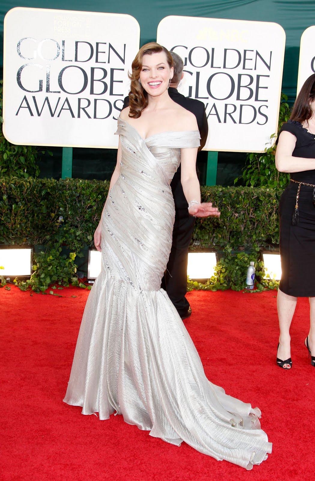 Mila Jovovich dress