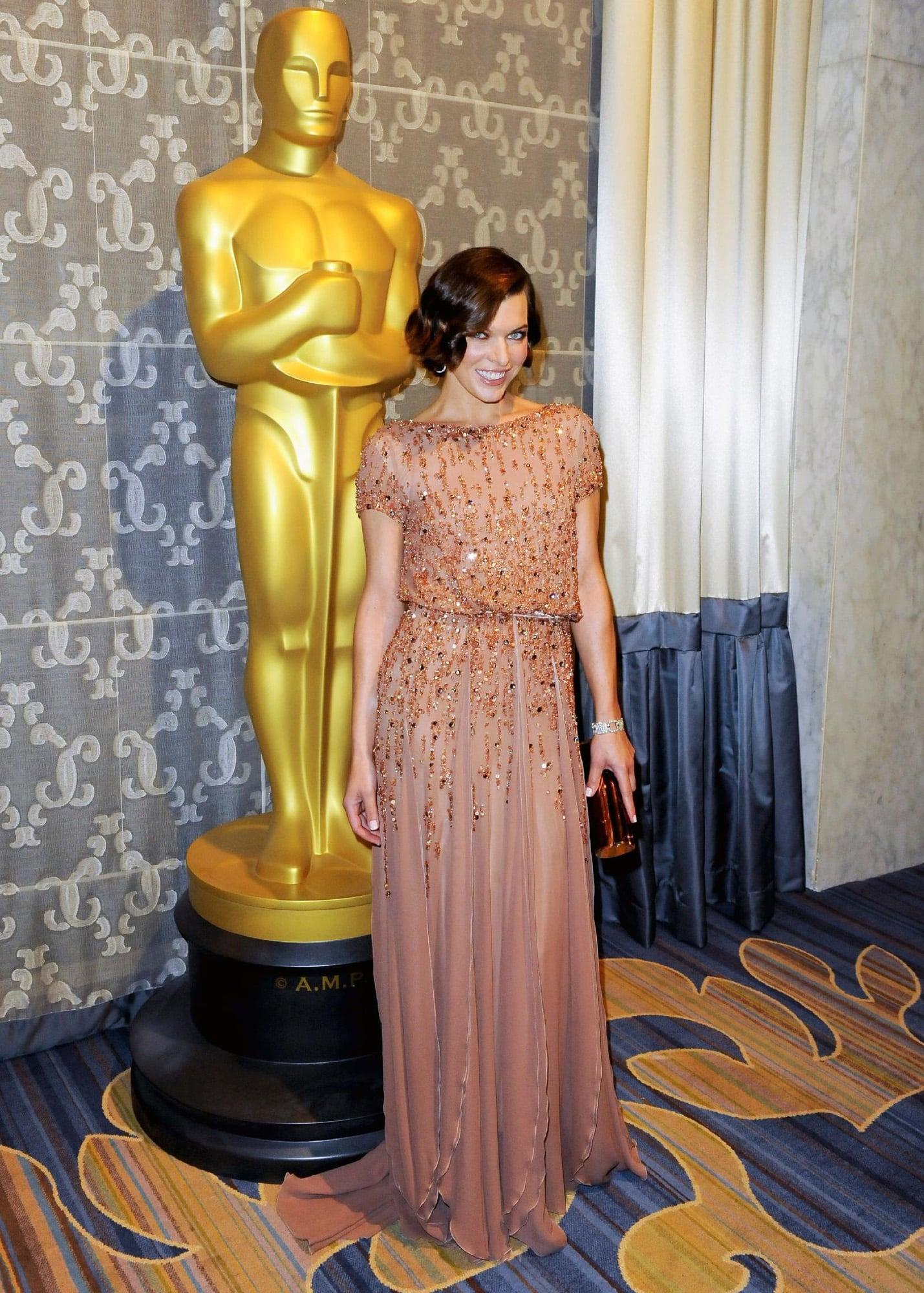 Mila Jovovich Oscar