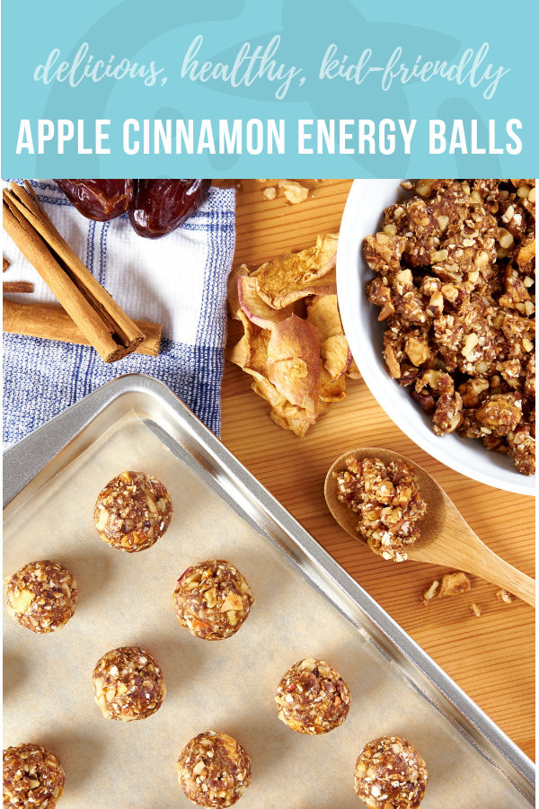 Apple Cinnamon Energy Balls | Healthy Ideas and Recipes for Kids