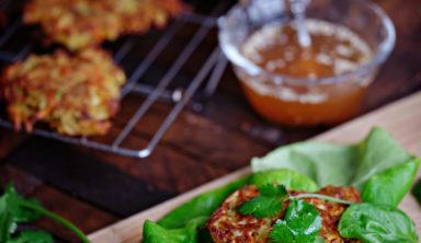 Delicious Sweet Potato Pancake Lettuce Wraps Recipe