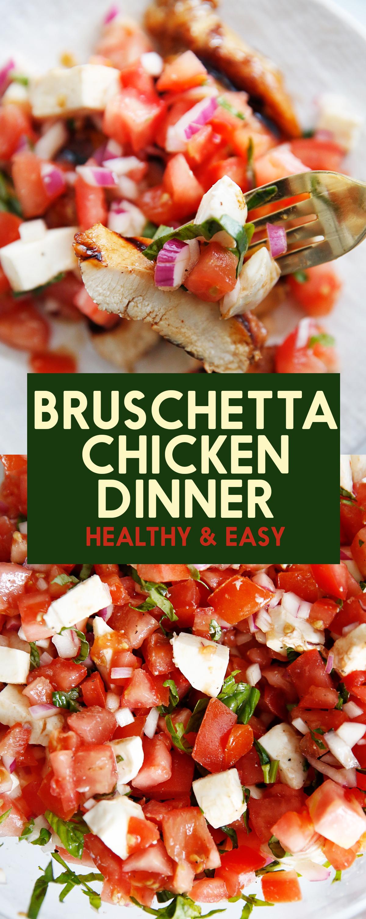 Easy Grilled Bruschetta Chicken Recipe 37