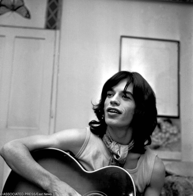 Mick Jagger in his youth