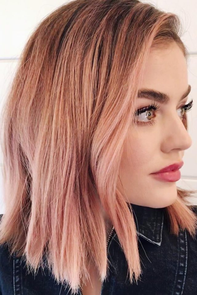 Beauty trends in autumn 2019 for those who want to change something in their hair 43