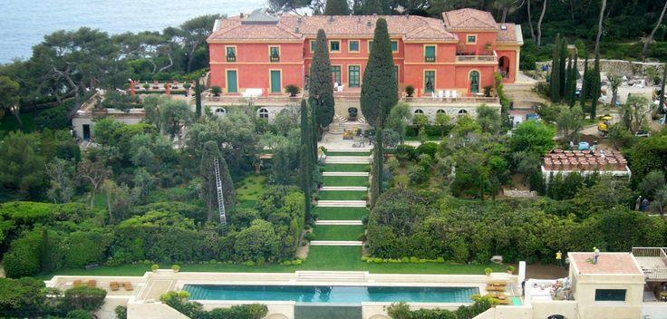 two-story villa