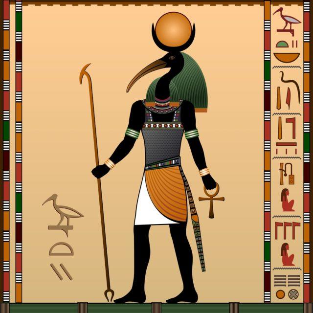 figure of god thoth
