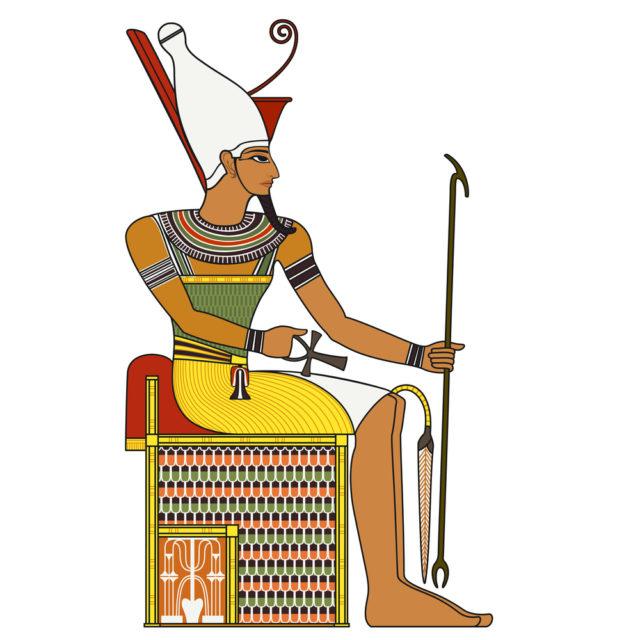 Osiris drawing