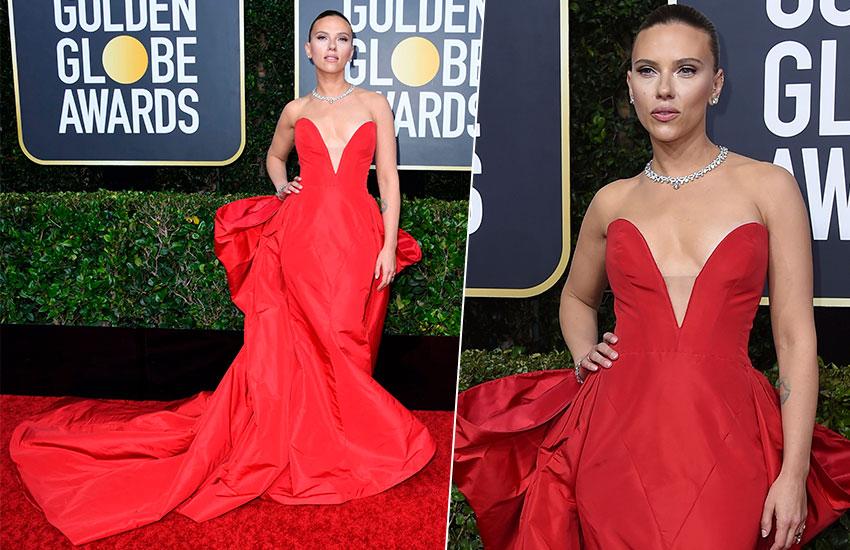 Scarlett Johansson Golden Globes - 2020