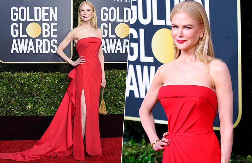 Nicole Kidman Golden Globes - 2020