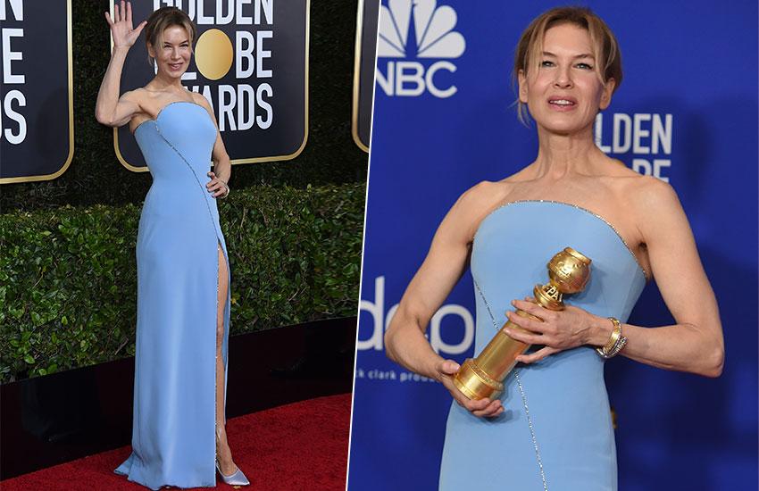 Renee Zellweger Golden Globes - 2020