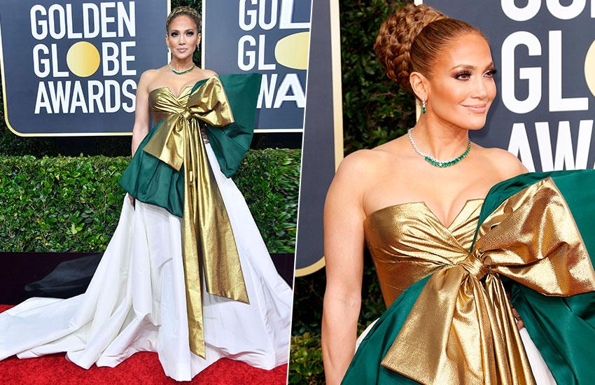Jennifer Lopez Golden Globes - 2020