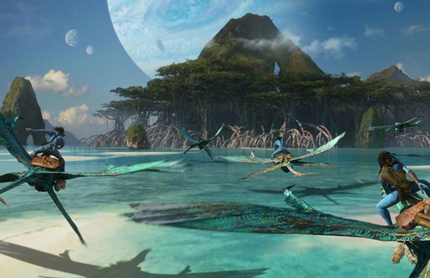 first frames Avatar-2 Avatar-2 2020