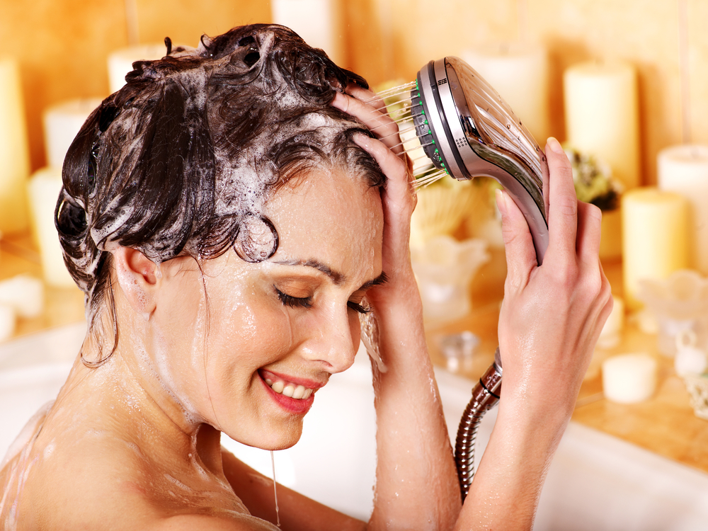 wash your hair