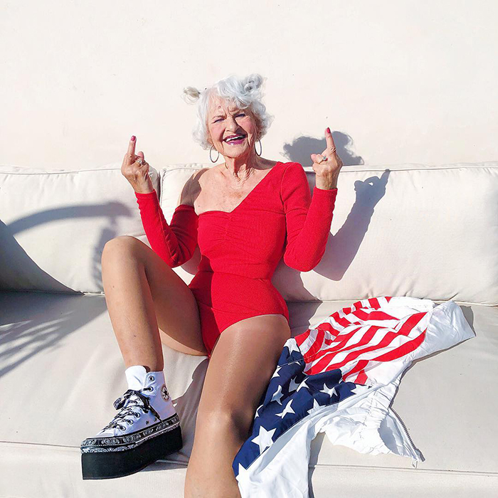Baddie Winkle: 92 years is no reason to turn into an old woman!