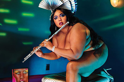 Bodypositive Singer Lizzo Poses Nude For Magazine Cover 38