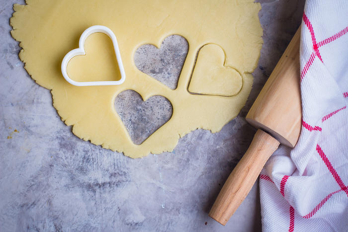 recipe for gingerbread hearts