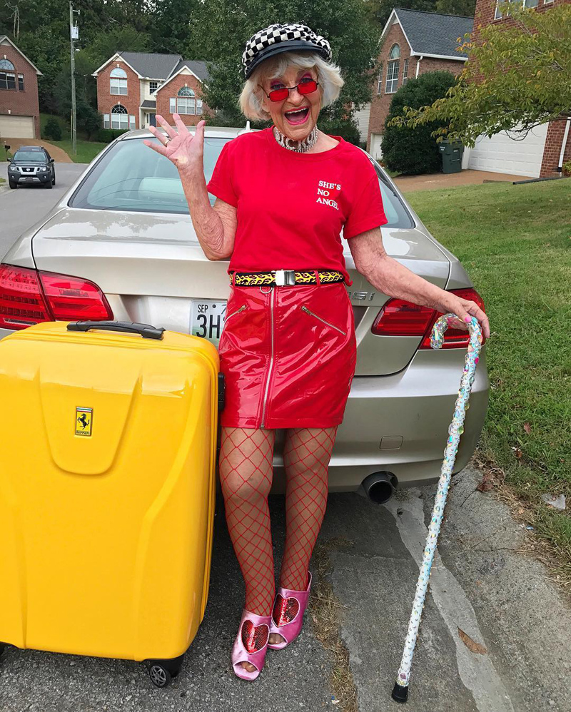 Amazing Baddie Winkle: 92 years is no reason to turn into an old woman! 36