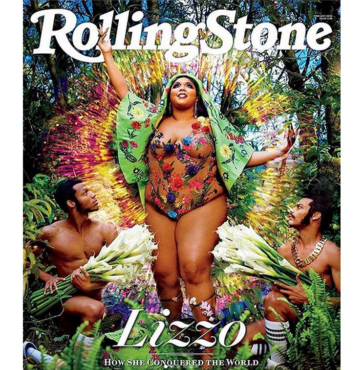 Bodypositive Singer Lizzo Poses Nude For Magazine Cover 40