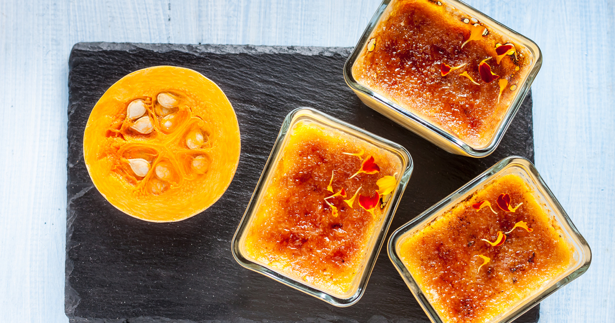 Gentle Pumpkin Flan With Goat Cheese Recipe 36