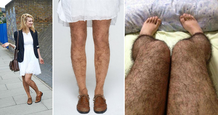 Hilarious Hairy Stockings Will Save You From Maniacs! 38