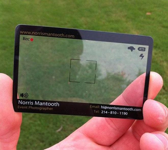 Take Memorable Business Card: 25 original options.