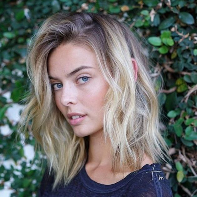 4 Hairstyles For Long Hair Which Hide Uncolored Roots