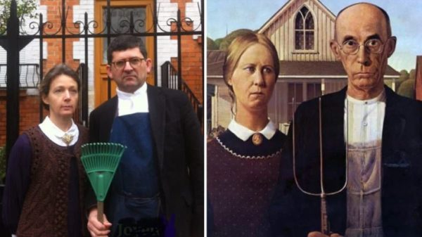 Museum challenges its followers to parody a famous art work and the result is hilarious 32