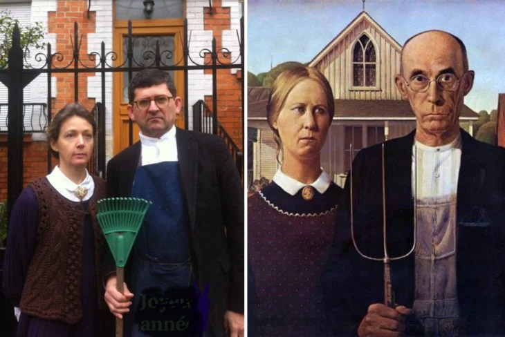 Museum challenges its followers to parody a famous art work and the result is hilarious 36