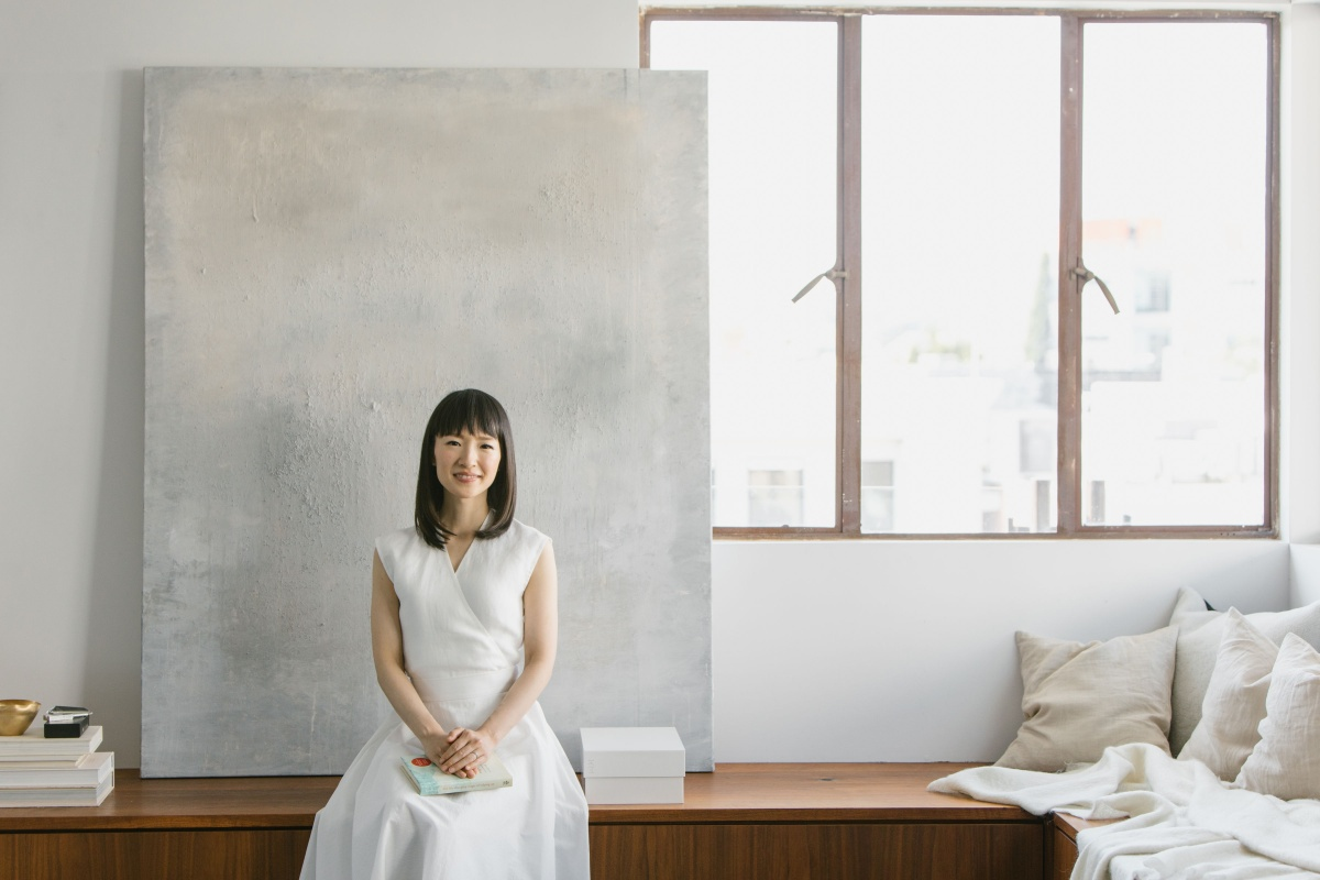 How To Clean Up The Apartment And Life: Amazing Tips From Marie Kondo