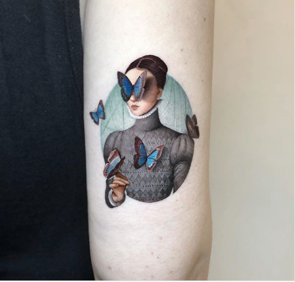 10+ Photos of beautiful tattoos for those who urgently need ideas 36