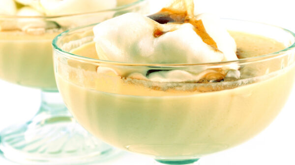 """The recipe Of French dessert """"Floating Islands"""" 58"""