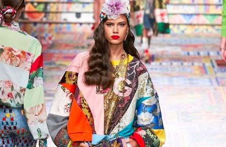 Milan Fashion Week. Dolce & Gabbana Spring- Summer 2021