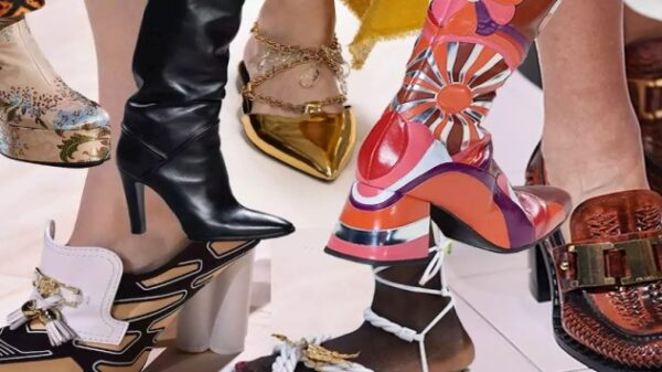 Euphoric shoe trends Fall 2020. There is no limit to surprise! 38