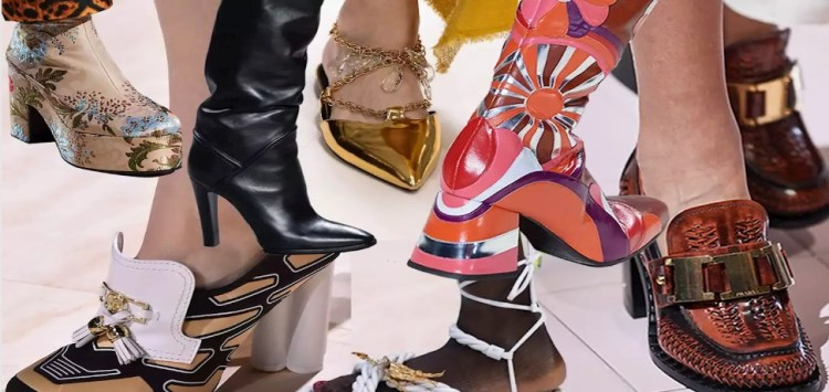 Euphoric shoe trends Fall 2020. There is no limit to surprise! 40