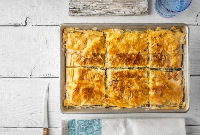 Filo Dough Spinach Pie Recipe