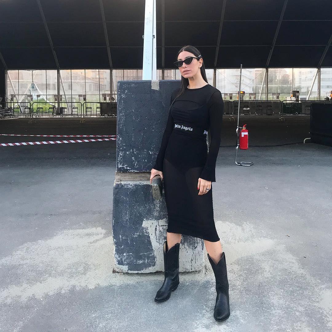 Style Guide: Wearing Boots Like Georgia Gabriele 36