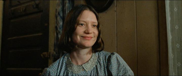 Mia Wasikowska in the movie