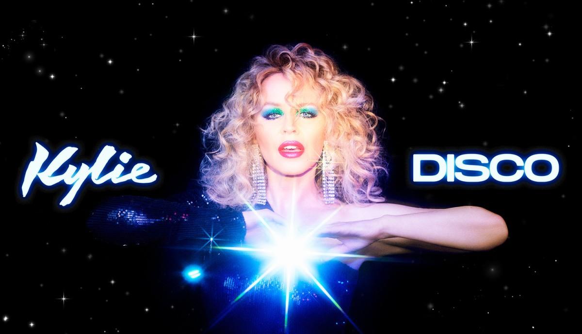 Kylie Minogue has released a new album Disco 36