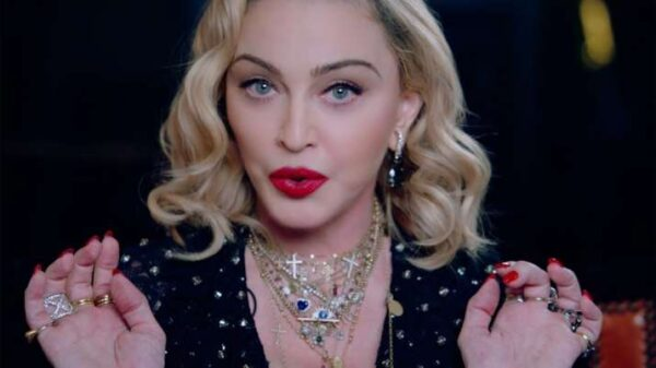 Singer Madonna was mistakenly buried on the Web due to the death of a famous football player 47
