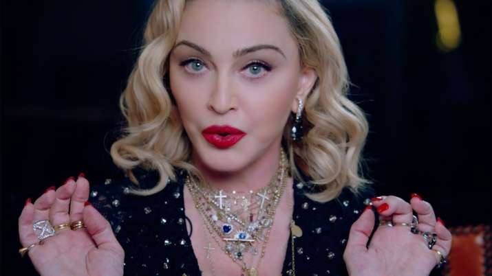 Singer Madonna was mistakenly buried on the Web due to the death of a famous football player 36