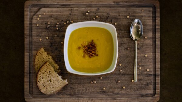 Remarkable Warming Almond Soup with Croutons Recipe Of The Day 13
